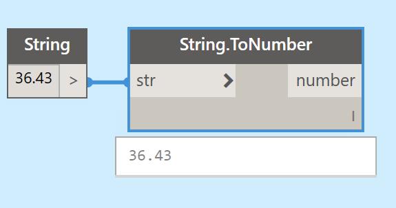 создание числа из строки