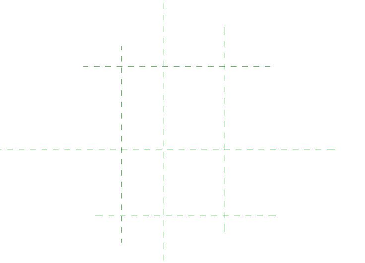 Создание опорных плоскостей в Revit