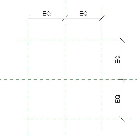 Выравнивание элементов в Ревит с помощью параллельного размера